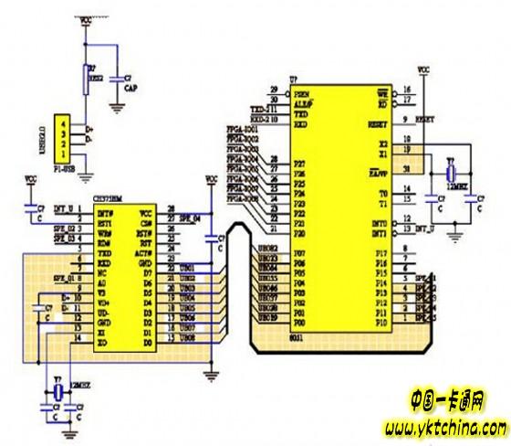 门禁系统智能视频监控电路设计方案